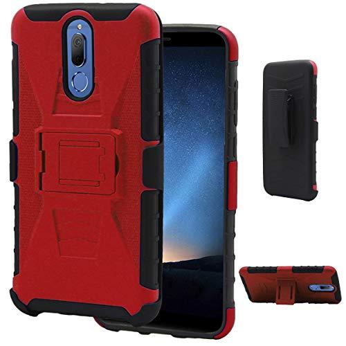 Funda Protector Case Clip Host Para. Huawei Mate 10 Lite RNE-L03. Incluye Cristal Templado Plano. Diseño…