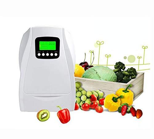 XYYMC Generador de Ozono Doméstico Digital,Ozonizador Negative Ion purificador de Aire Limpieza y desinfección Dispositivo para el Agua, Verduras, Frutas, etc