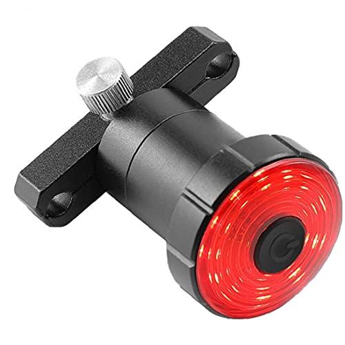 Cola luz de la Bici de la Bicicleta Recargable Inteligente Luces traseras de una Silla de Montaje del Freno de detección Posterior de la Bici LED Accesorios para Bicicleta de