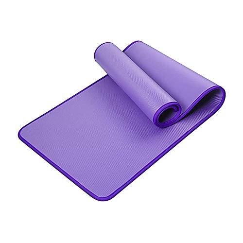 Estera de Yoga Colchoneta Yoga Alfombra Antideslizante de Fitness con Bolsa de Transporte Extra Gruesa Impermeable Esterilla Deportiva para Yoga