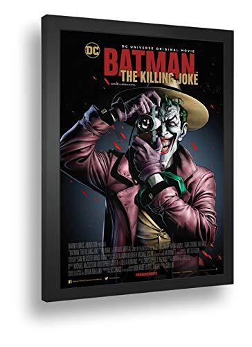 Quadro Decorativo Poste Batman Coringa Piada Mortal