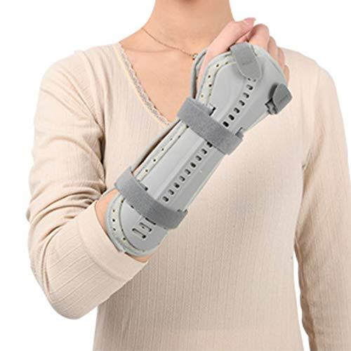 NNBD Férula para muñeca - Pulgar y ortesis de muñeca - Soporte estabilizador de Mano - Inmovilización posquirúrgica Adecuado para fracturas de Mano, esguinces de muñeca,Right,M