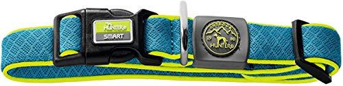 Hunter - Collier Vario Basic S Maui Blue Collar 30-43Cm