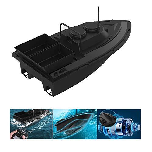 Fischfinder Futterboot Baitboat, für Flytec D11 Angeln RC Boot Fishing Bait Boat 2,4 G,High Speed 500m Ferngesteuertes Boot, Fischköder 1.5kg,Hoch Wasserdicht Köderboot mit Geräuschloser Doppelmotor