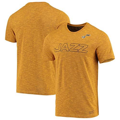 Männer Basketball NBA T-Shirt Fans Jersey Breathable Quick-Dry Leichtathletik Cation Kleid Für Sommer-Jugend-Sweatshirt S-XXXL Utah Jazz-L