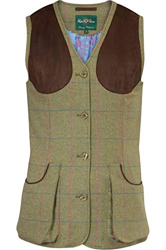 Alan Paine Womens Combrook Tweed Taille Juniper