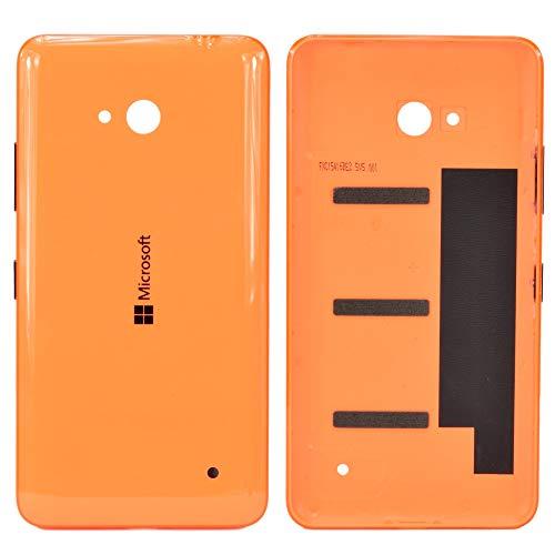 Microsoft Lumia 640Dual SIM Copribatteria Originale, tra Cui Arancio dei/Tasto Silenzioso e Pulsante On/off