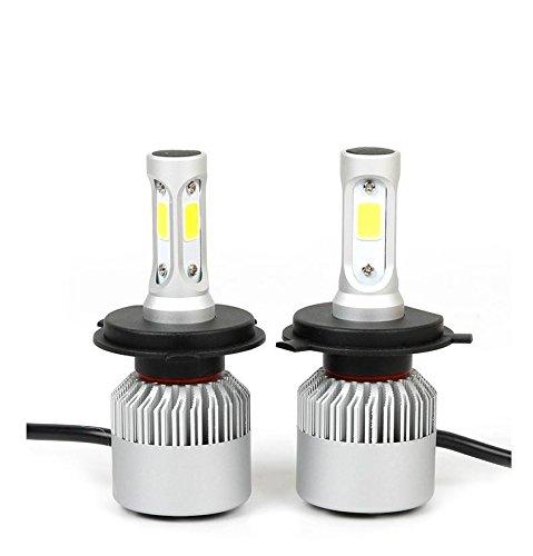 Ampoules de phare à LED - Kit de conversion de longueur de focale réglable 40W 8000LM focus-longueur réglable phares de voiture , h13