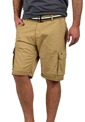 Sublevel Bermuda di Jeans da Donna con Elementi Destroyed Pantaloncini Effetto Used