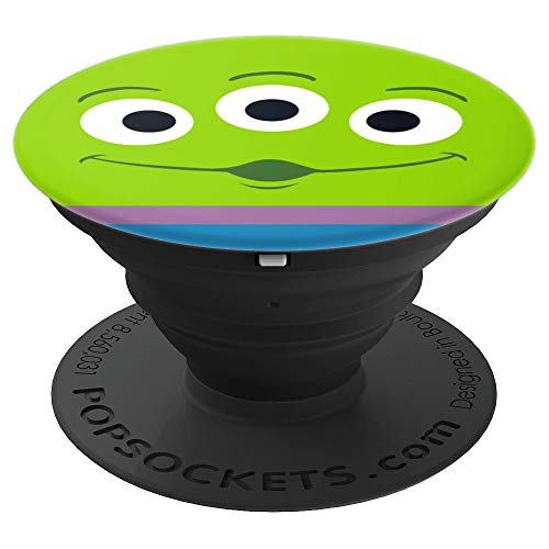 Disney and PIXAR Toy Story 4 Alien Face - PopSockets Grip and Stand for Phones and Tablets