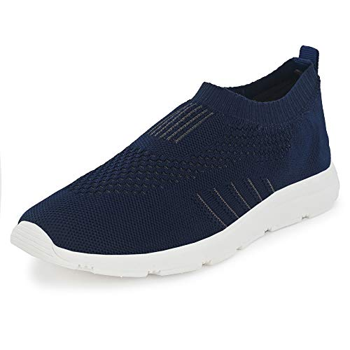 Bourge Men's Vega-5 Navy Running Shoes-10 UK (44 EU) (11 US) (Vega-5-10)