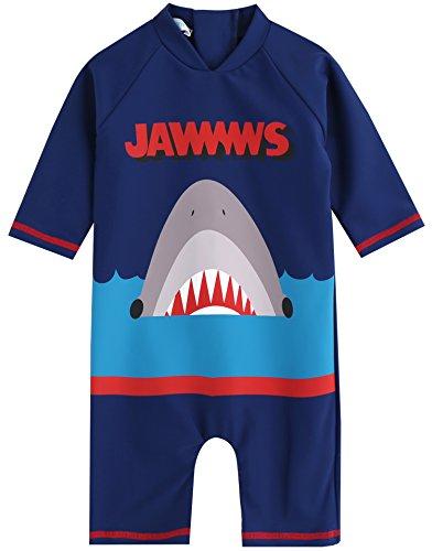 Vaenait bébé 0–24 m Enfant Garçon OnePiece Rashguard Swimwear Bain Mode, Jaws King