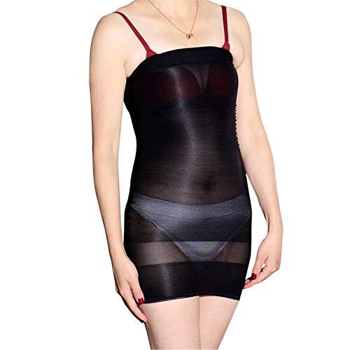 BH-Hemden Für Damen Damen-Reizwäsche Sexy Dessous Perspektive Porno Tube Top Rock Kleid Frauen Dessous Tanz Party Kleid Bodydoll Erotic-Black_One_Size