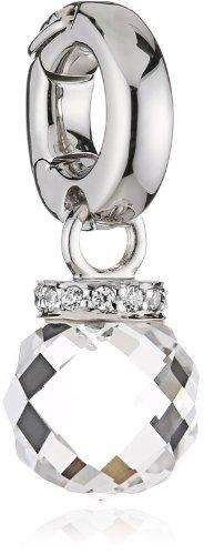 Viventy dameshanger 925 sterling zilver NA 14 zirkonia bergkristal wit 765712