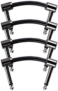 MOOER Guitar Effects Pedal Accessories 4 Pack Patch Cable FC Series 2 FC 2 product image