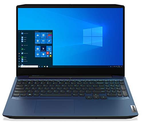 "Lenovo IdeaPad Gaming 3 - Ordenador Portátil Gaming 15.6"" FullHD (AMD Ryzen 7 4800H, 16GB RAM, 512GB SSD, NVIDIA GTX1650-4GB, Windows 10 Home), Azul- Teclado QWERTY Español"