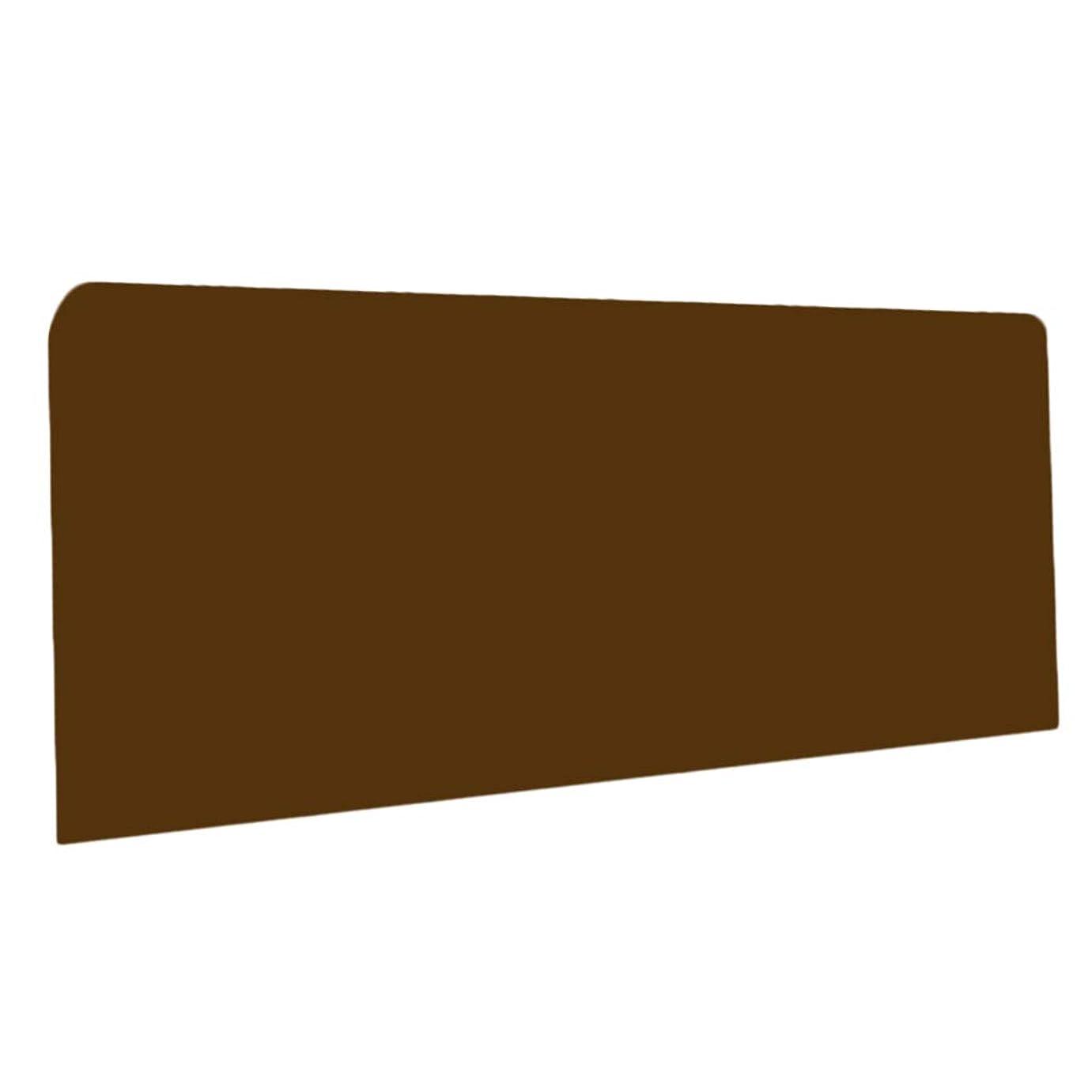 我慢する重々しいヒロインベッドヘッドボード 防塵カバー ベッドヘッドダストカバー 伸縮性 - ブラウン2m