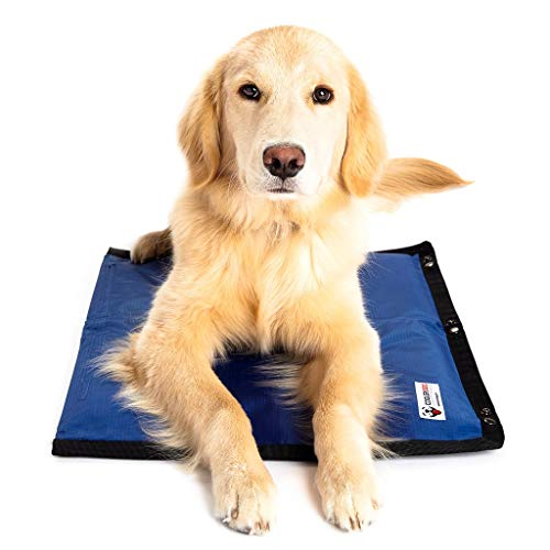 CoolerDog Dog Cooling Pad Dog Cooling Products Hydro Cooling Mat for Small/Medium Dogs