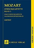 String Quartets Volume I (Italian Quartets, Salzburg Divertimenti) - Studien-Edition (Taschenpartitur): Instrumentation: String Quartets