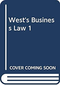 West's Business Law 1 0324357044 Book Cover