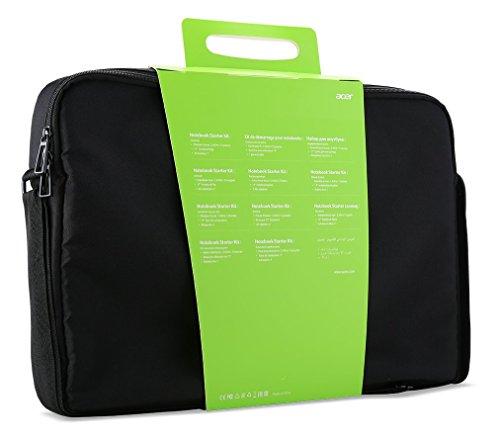 Acer Notebook Starter Kit Belly Band (Notebooktasche (geeignet für bis zu 17,3 Zoll Notebooks) + Wireless Maus) schwarz