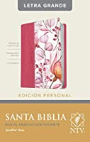 Santa Biblia: Ntv, Edición Personal, Letra Grande Letra Roja, Sentipiel, Rosa