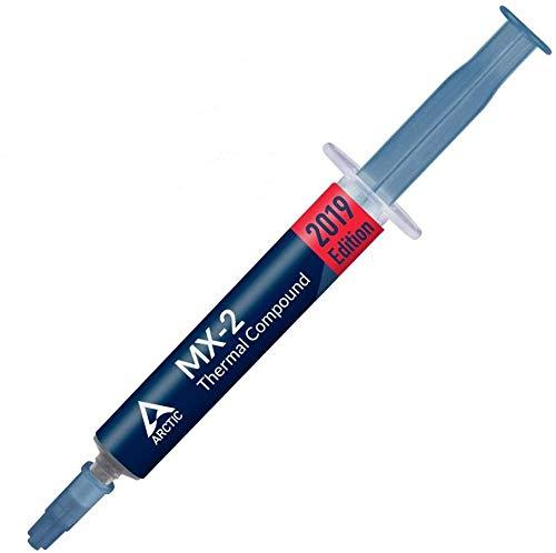 ARCTIC MX-2 (4 Gramm) - Qualitäts-Wärmeleitpaste für alle CPU-Kühler, extrem hohe Wärmeleitfähigkeit, niedriger thermischer Widerstand, sichere Anwendung, lange Haltbarkeit