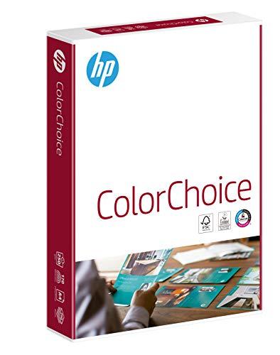 HP Farblaserpapier, Druckerpapier Color-Choice CHP756 – 250 g, DIN-A4, 250 Blatt, extraglatt, hochweiß – Für brillante Farben