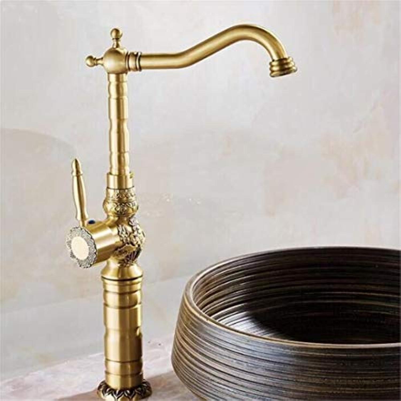 Wasserhahn Waschtischmischer Grohandel Und Einzelhandel Deck Montiert Vintage Antik Messing Waschbecken Wasserhahn Mischbatterie