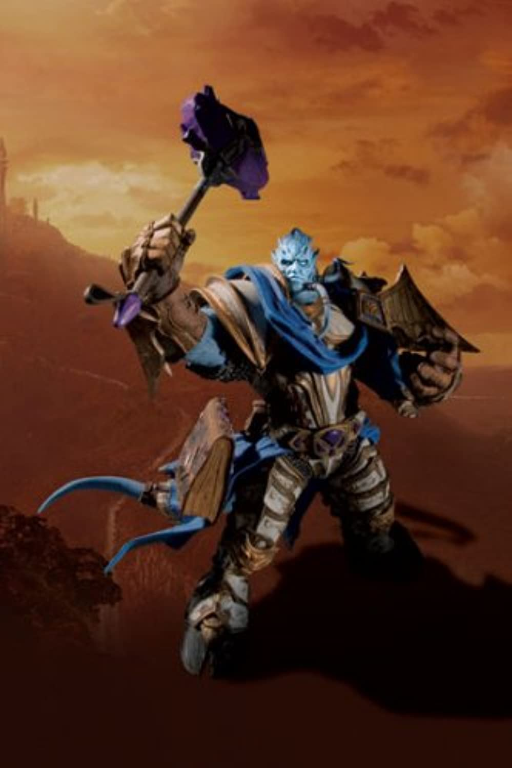 World of Warcraft Figure Series 2  Draenei Paladin DELUXE