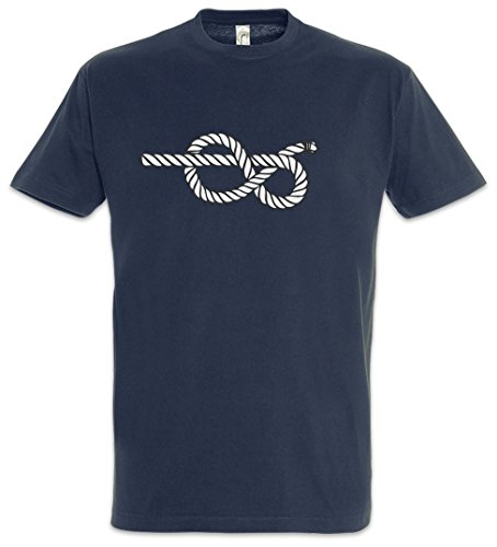 Urban Backwoods Sailor\'s Knot II Herren T-Shirt Blau Größe L