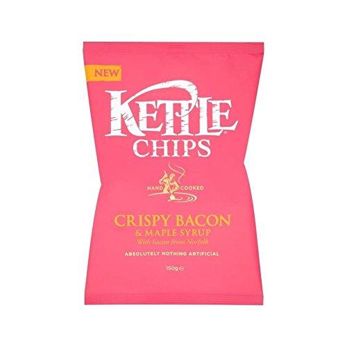 Kettle Chips Knusprigem Speck & Ahornsirup 150G - Packung mit 4