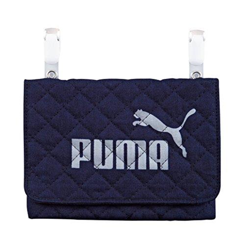 プーマ キルトバッグ ポケットポーチ ネイビー PM188NB