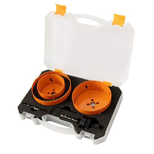 SUNGATOR 6-Piece Bi-Metal Hole Saw Kit, General Purpose 3