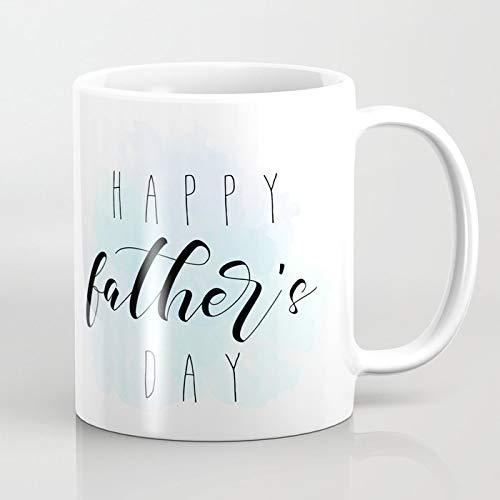 N\A Feliz día del Padre - Taza de café con Pintura Azul