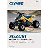 Clymer Repair Manuals for Suzuki LT250R QUADRACER 1985-1992