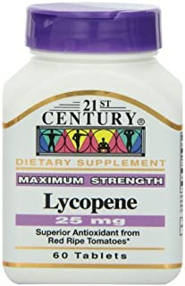 21st Century Lycopene 25 Mg Tablets, 60-Count (Pack of 3) by 21st Century