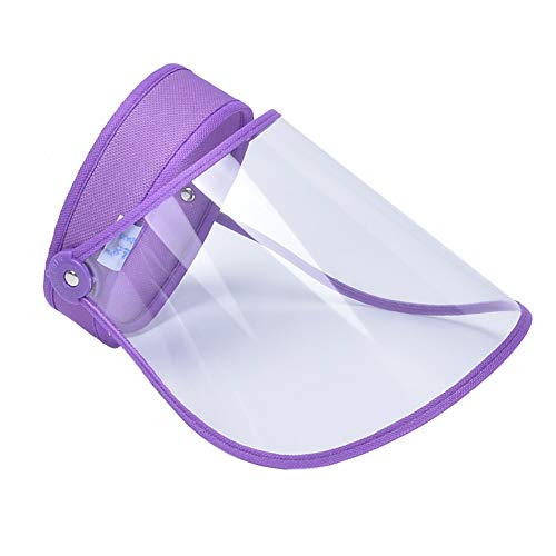 Protector Facial Transparente a Prueba de Polvo a Prueba de Viento Cubierta Facial Transparente para el hogar XIEJ Protector Facial protecci/ón Facial antisaliva Multiusos Cocina