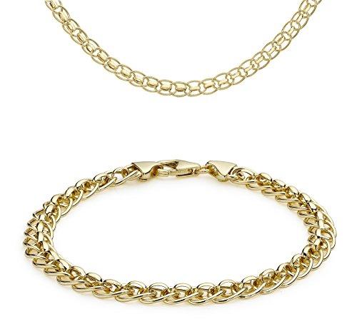 Carissima Gold Juego de joyas de mujer con oro amarillo de 9 quilates (375/1000)