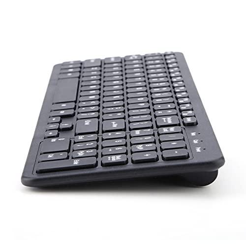 Teclado de 96 Teclas Teclado inalámbrico cómodo Estable Teclado USB inalámbrico, Teclado inalámbrico 2.4G para Escritorio para computadora para PC