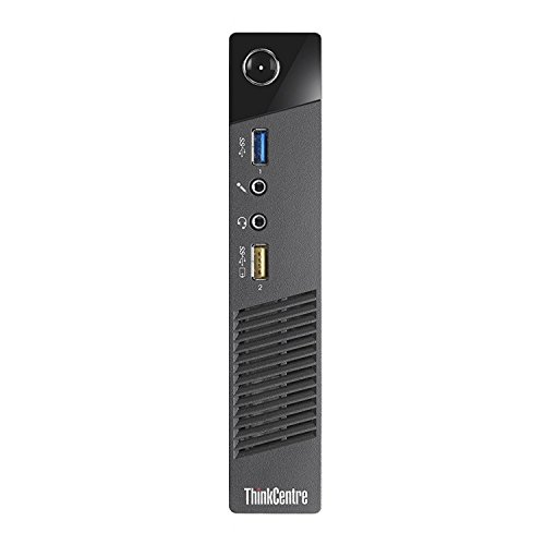 Lenovo Think Center M73 Tiny Desktop PC, Intel Core I5-4570T 2.9GHz up to 3.6GHz, 8GB RAM, 240GB SSD, WIFI, BT 4.0, HDMI, USB 3.0, VGA, DP port, W10P64 (Renewed)
