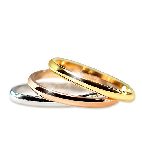 Ring Set for Womens Mens Stainless …