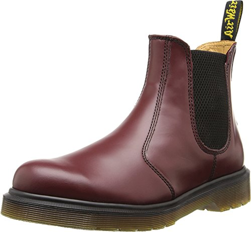 Dr. Martens Dr. Martens Unisex 2976 Smooth Chelsea Boots, Rot (Cherry Red), 48 EU