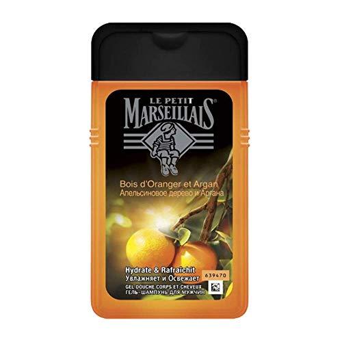 Le Petit Marseillais Man Gel Doccia Corpo e Capelli Bois D'Orange & Argan bottiglia da 250 ml