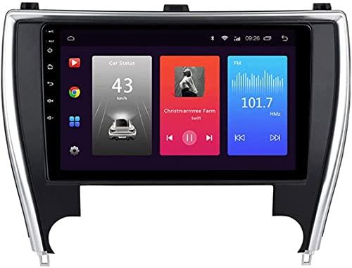 Laytte Navegación para Automóviles para Toyota Camry 2015-2017 Stereo Pantalla TOUCHA Radio Android DE Entretenimiento Androides Radio Multimedia Radio Doble DIN ESTÉREO WiFi,8core 4g WiFi:4+64gb