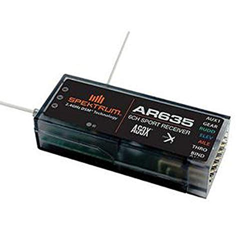 Willowhe AR635 DSMX / DSM2 6-Kanal AS3X Sport Empfänger SPMAR635 für Spektrum