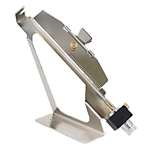 Befiederungsgerät Bogenschießen Pfeil Aluminium Adjustable Archery Feder Stick Tool DIY Vanes Fletch Gerade Clamp Outdoor Sports Zubehör