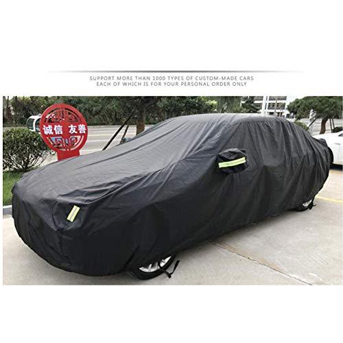 Traje de skate ZXS XJ, XF, XK, XE, F PACE, ich PACE, E PACE, F Car Cover Kompatibel mit Jaguar Sonnenschutz/Staub- / wasserdichte Car Cover für alle Modelle, Schwarz, XJ