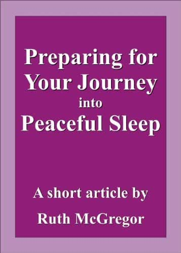 Preparing for Your Journey into Peaceful Sleep (article) (English Edition)