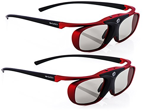 "2x Hi-SHOCK® 3D-BT Pro ""Scarlet Heaven"" 